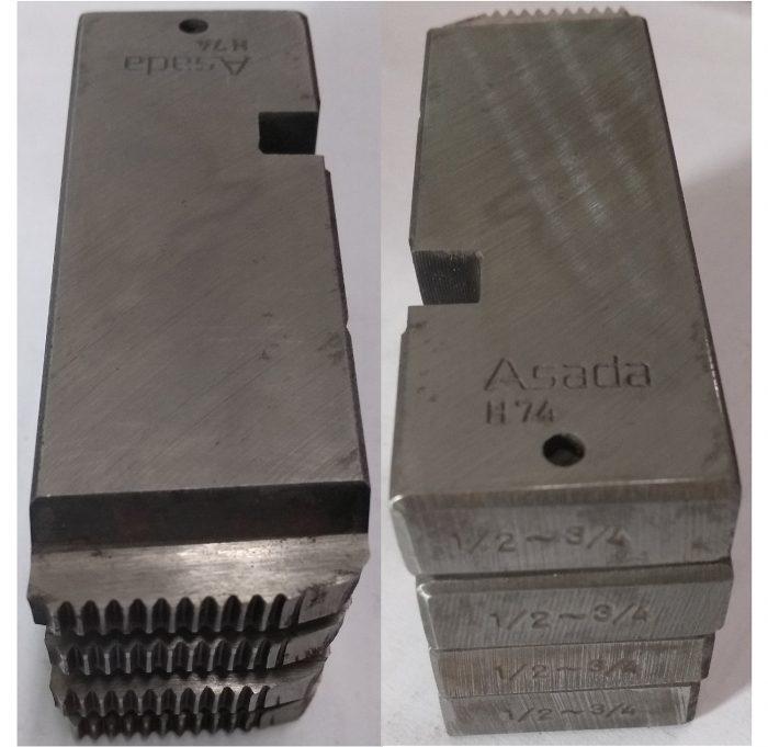 """ฟันต๊าป """"ASADA"""" BSPT ขนาด ½""""-¾"""" (A PT) NO.89211 - 3"""