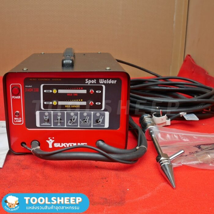 SUKYOUNG SY-ASW 3300 เครื่องเชื่อมจุด เครื่องเชื่อมสปอต (Automatic spot welder) Single phase